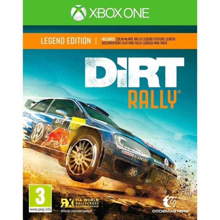 DiRT Rally: Legend Edition, Xbox One, Racing