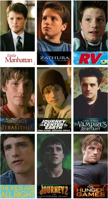 Josh Hutcherson. Only repin if you have known him before hunger games