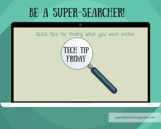 Be a Super-Searcher