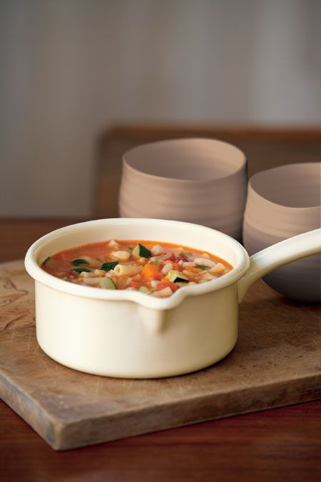 "Chicken Minestrone....     from the ""Country Women's Association Soups and Stews"" cookbook"