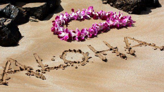 aloha-in-sand-with-lei.jpg (577×325)