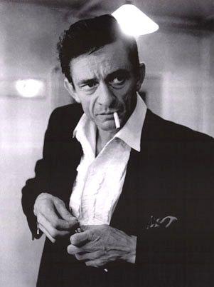 The Man in Black, Johnny Cash.