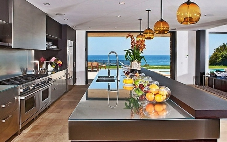 Kitchen View of Dream Beach House | Dream Houses ...