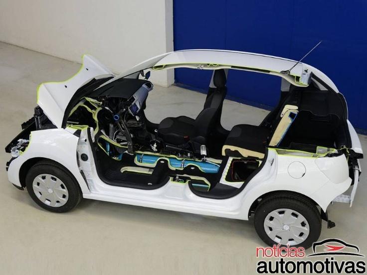 Citroën C3 Hybrid Air usa ar comprimido e faz 34,5 km/litro de gasolina