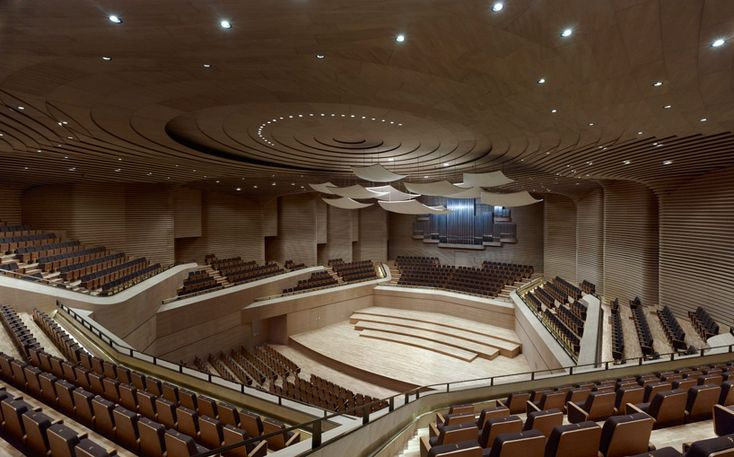 grand theater' by gmp architekten, tianjin, china  image © christian gahl  all images courtesy of gmp architekten