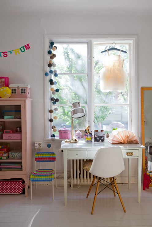 An eclectic bedroom for a girl - Petit & Small