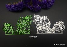 bird flower tree branches metal cutting dies stencils DIY Scrapbook Card picture…