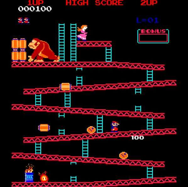 Donkey Kong LOVE this game