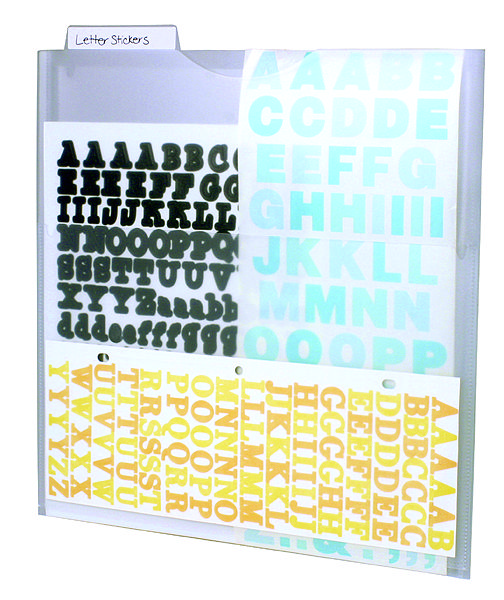 40 Best Scrapbook Sticker Organizing Images On Pinterest Scrapbook