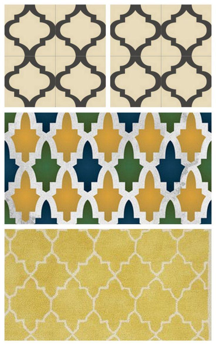 Moroccan Print Pattern Style Geometric Pattern Print