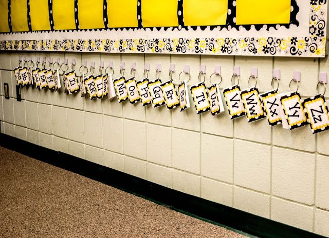 LOVE this portable word wall idea!! {Run! Mrs. Nelson's Got the Camera}