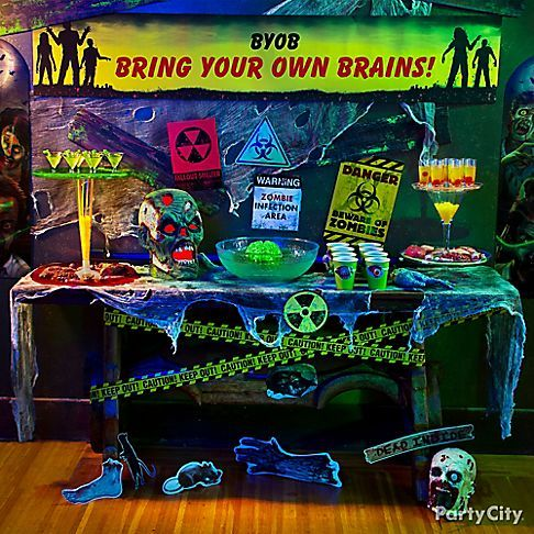 Killer Zombie Apocalypse Party (Bring Your Own Brains)