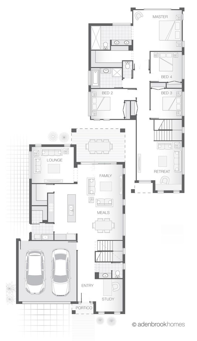 Standard floorplan for The Sinclair