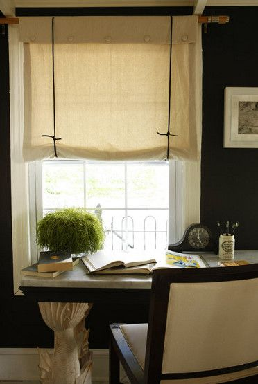 My Quest For Sensible And Stylish Window Coverings For Our Many Windows Had  Me Look At Different Options. In Addition To Faux Roman Blinds .