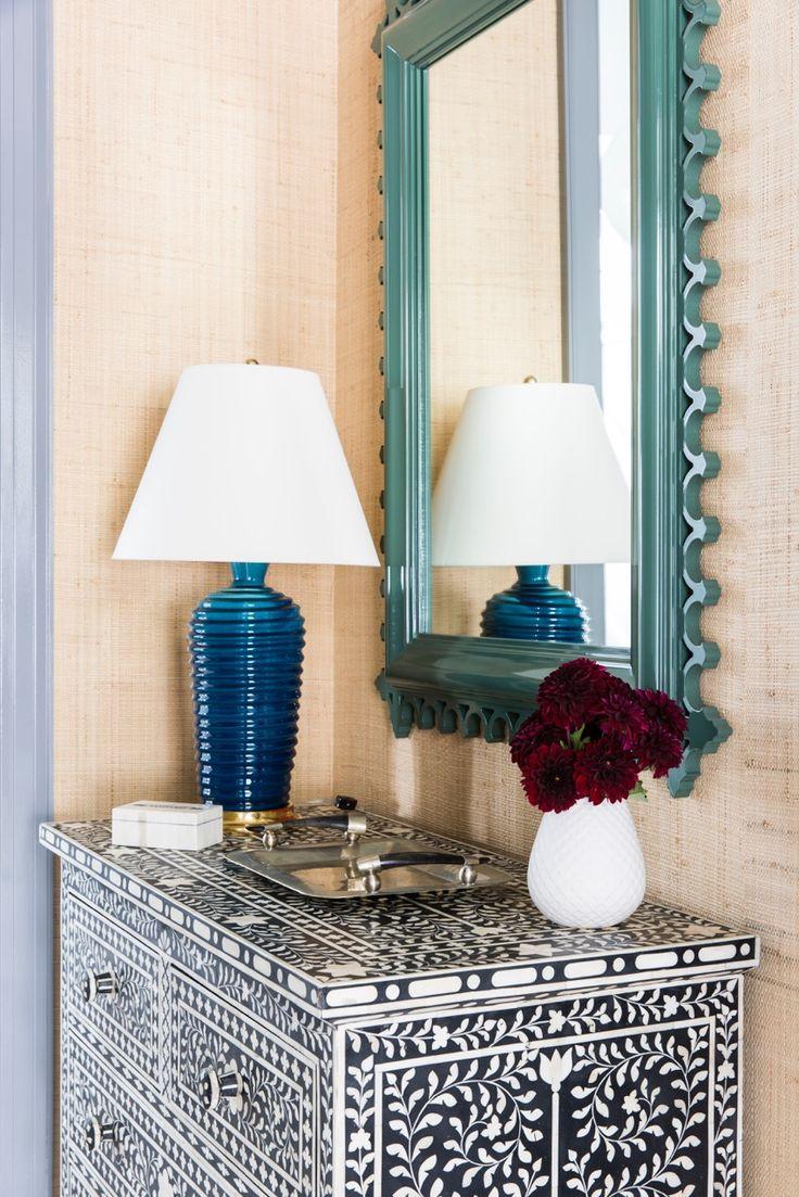 Williams sonoma home five panel beveled mirror - Oomph Custom Color Newport Mirror