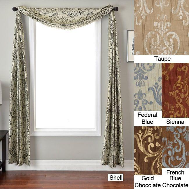 Best 25 Scarf Valance Ideas On Pinterest Hippie Curtains Scarf Curtains And Curtain Scarf Ideas
