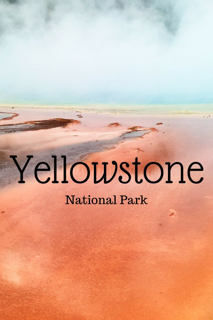 Informatie over Yellowstone National Park