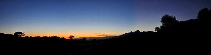 SS131 road at dusk