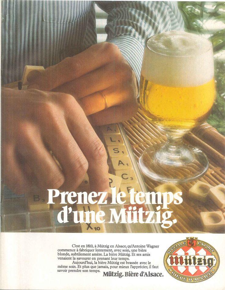 Prenez le temps d'une Mützig- Le nouvel observateur, 1er août 1977