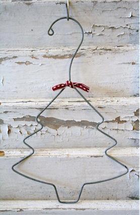 Kleiderbügel Weihnachtsbaum