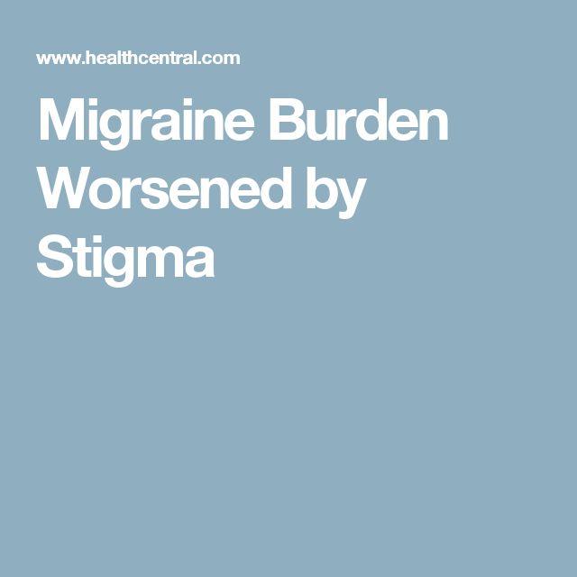 Migraine Burden Worsened by Stigma