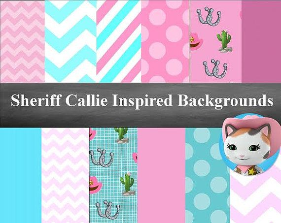 SALE Instant Download Sheriff Callie by EasyPartyPrintables
