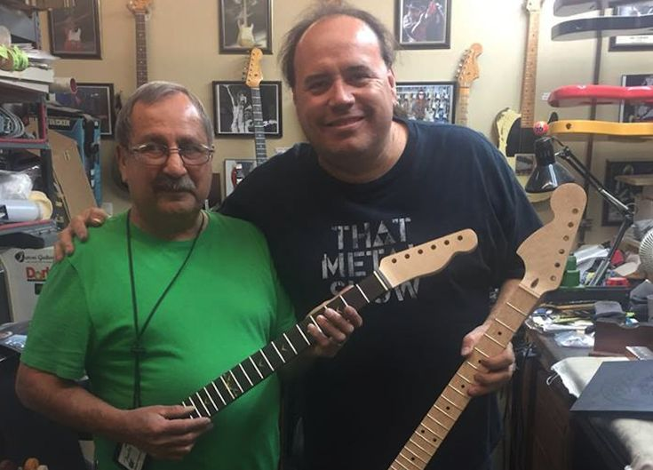 """""""His fingerprints are everywhere; his tenure spans the careers of the most iconic artists to hold a guitar, from Jimi Hendrix, to Eric Clapton and Jeff Beck."""" - Richard McDonald, Fender Chief Product Officer From all of us at Fender, we'd like to thank Herbie Gastelum for his hard work and dedication, and hope he enjoys his retirement to the fullest!  Click the link to learn more about his legacy."""