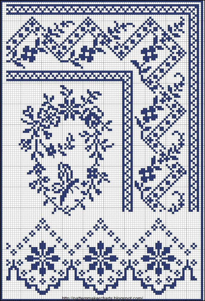 Free cross stitch pattern maker, PCStitch charts + free historic old pattern…