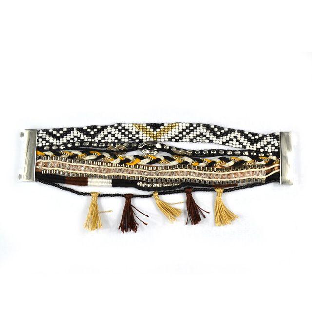Hipanema bracelet 2016 magnétique fermoirs brésilien boho bracelet multi strand bracelet Bohème Ipanema Bracelets femme