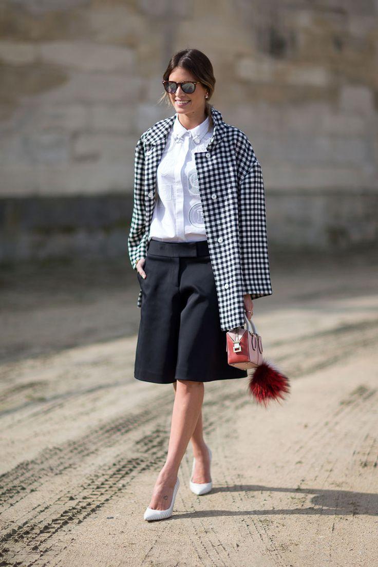 Paris Fashion Week, Fall/Winter 2014-2015 - outfit - streetstyle - Helena Bordon with Fendi