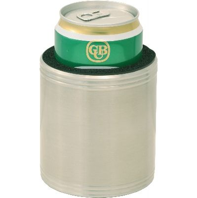 Stainless steel insulated beer holder  (G45_ORSO_DEC)