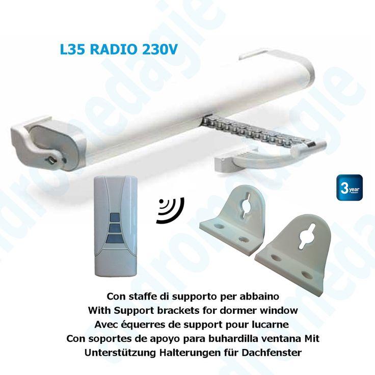 LIWIN RADIO 350N 230V BIANCO + R1 CONTROL BIANCO + STAFFE ABBAINO BIANCHE N. prodotto: AUT00195 LIWIN RADIO 350N 230V BIANCO + R1 CONTROL BIANCO + STAFFE ABBAINO BIANCHE xtetto - Comunello Automation Mowin 166,88 € / scatola/e * 260,45 € Sconto del 36 %