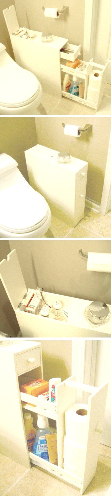 25 faszinierende DIY-Ideen, um Dinge im Badezimmer zu organisieren #smallhouse