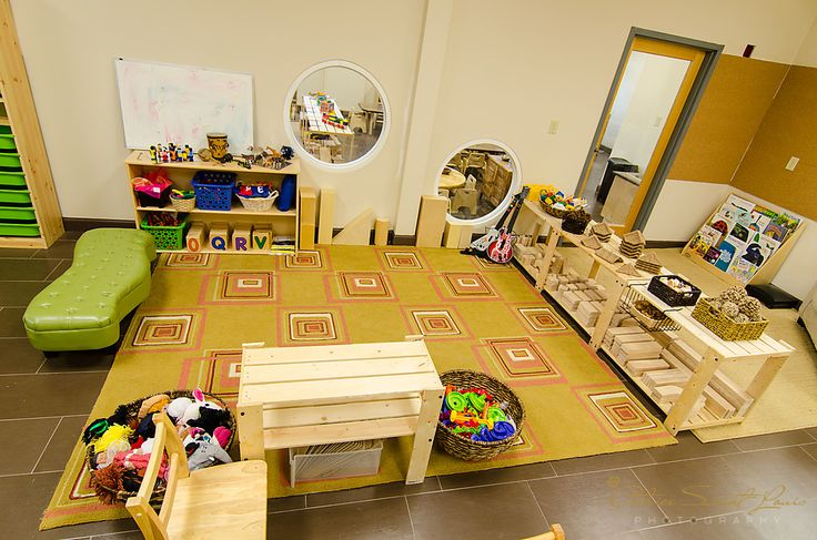 Infant Classroom Design | for a total of eight classrooms each setting is well thought off ...