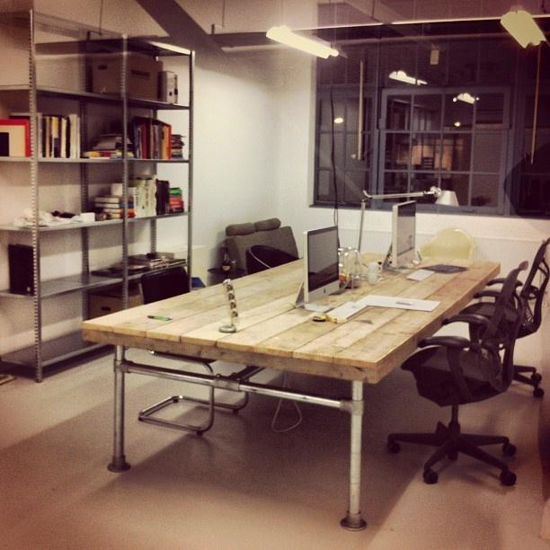 The new studio part 2 ... the set up is almost complete! #defabriekvandelfshaven #rotterdam #mystudio - @bijdevleet- #webstagram