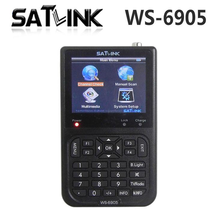 [Genuine] Satlink WS-6905 Localizador de Sinal Digital Terrestre (DVB-T) satlink 6905 localizador ws6905 frete grátis