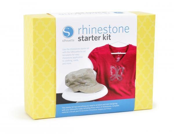 Silhouette Rhinestone Starter Kit KIT-RHINE Cristalli Strass