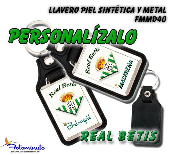 Llavero personalizado Real Betis