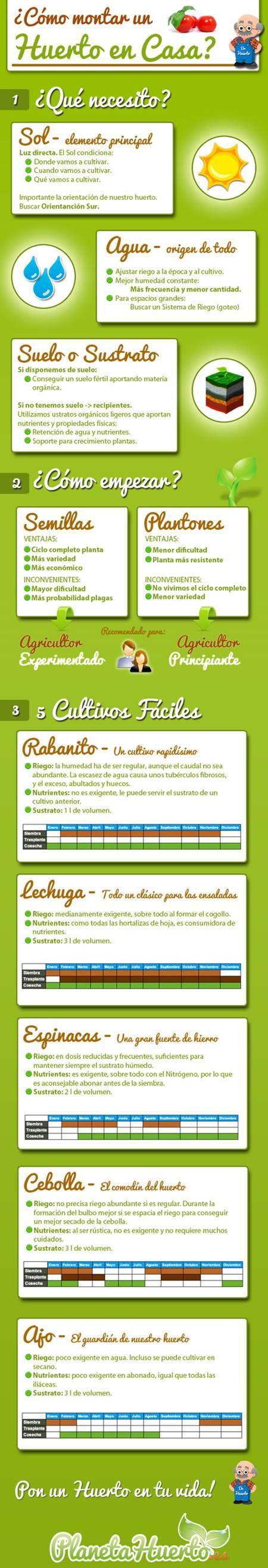 Jardineras para huerto en casa / EcoInventos.com
