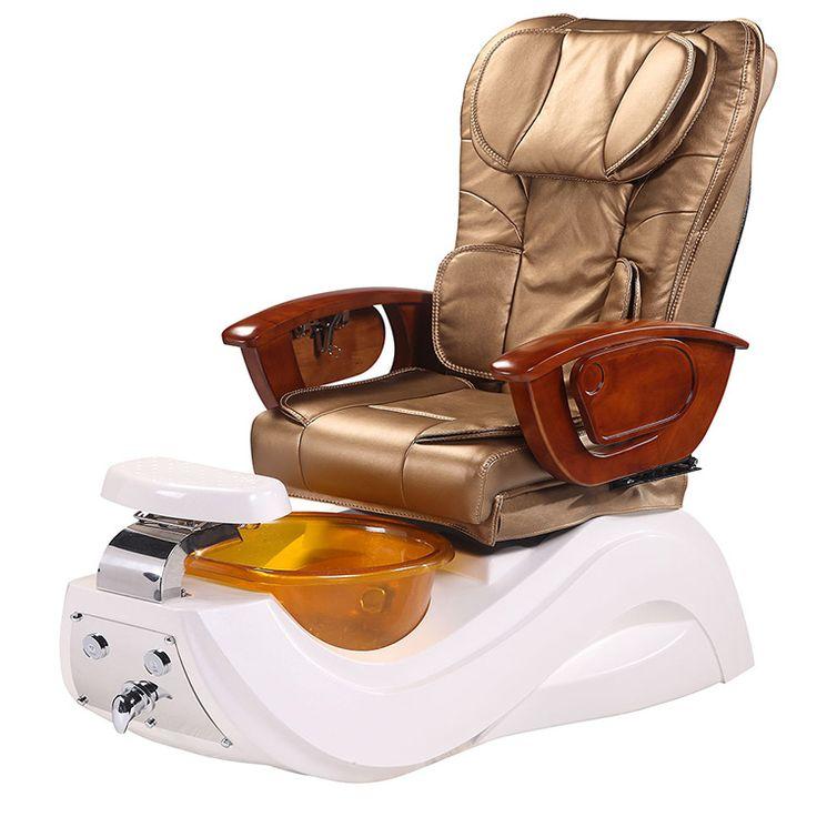 USA nail salon pipeless pedicure station foot spa massage chairs-Beauty SPA Equi...