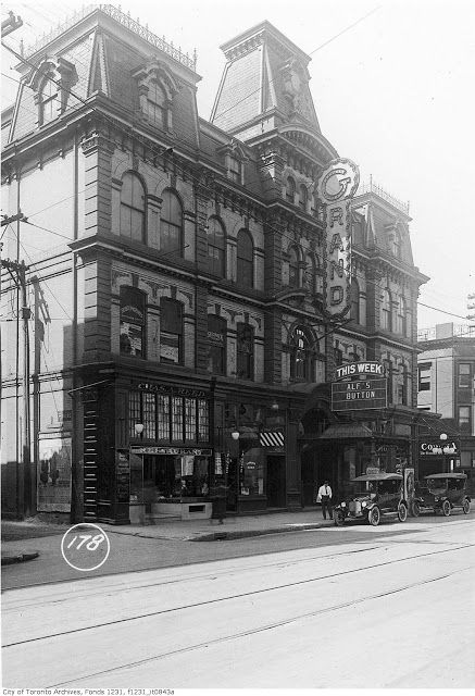 The Grand Opera House in 1921