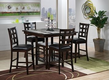 Casual Dining Room Furniture The Lorenzo Collection Pub Table