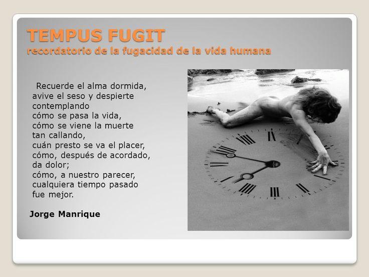 Tempus Fugit | Jorge Manrique