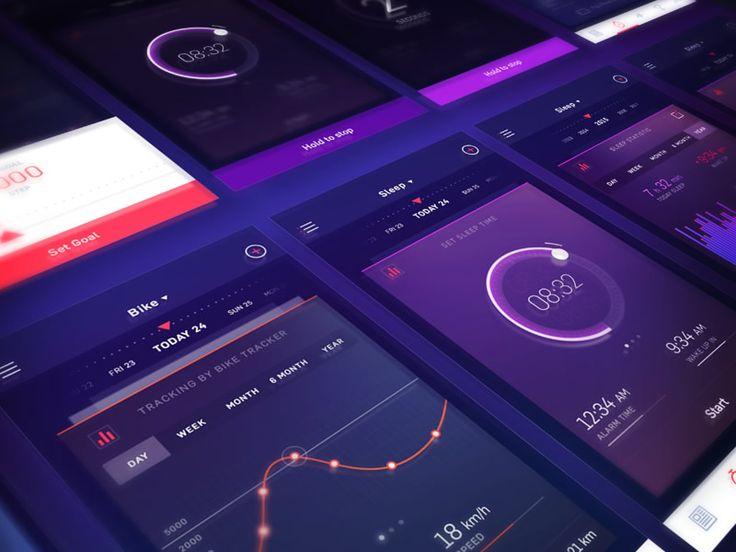 Gorgeous UI Design by Gleb Kuznetsov