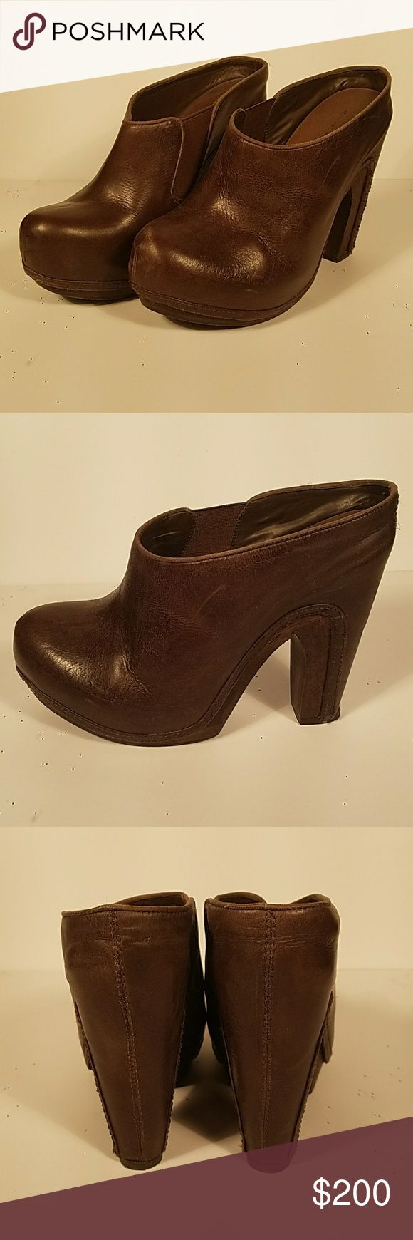 Allsaints Spitalfields Mule Heel Allsaints Mules in great condition. Worn only once! All Saints Shoes Mules & Clogs