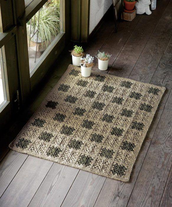 40 Best Rectangular Crochet Rug Images On Pinterest Crochet Carpet