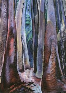 Deep in the Forest - Emily Carr - The Athenaeum