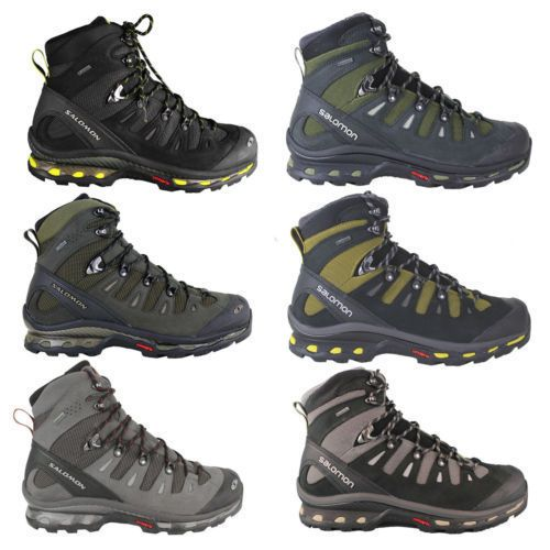 Salomon Quest 4D GTX MEN'S Hiking Boots Trekking Shoes Hiking Boots Waterproof | eBay