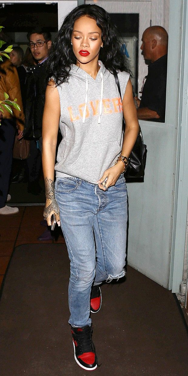 . Rihanna Proves She's A Lover  Get her look. via @WhoWhatWear