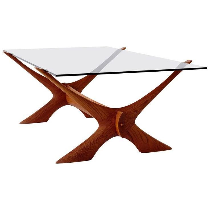 Wikkelsø Teak Coffee Table   1stdibs.com